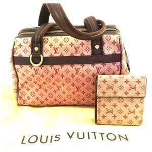 LV minilin bag and wallet